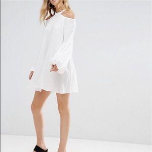 Free People Womens Drift Away Tunic Dress